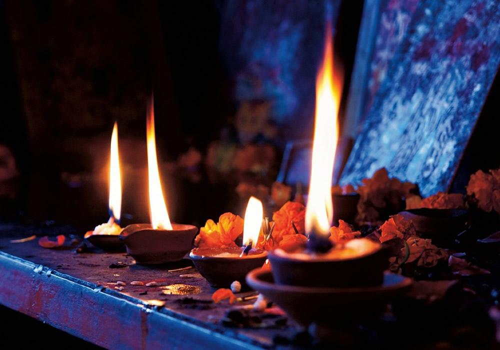 Construyendo un altar mágico