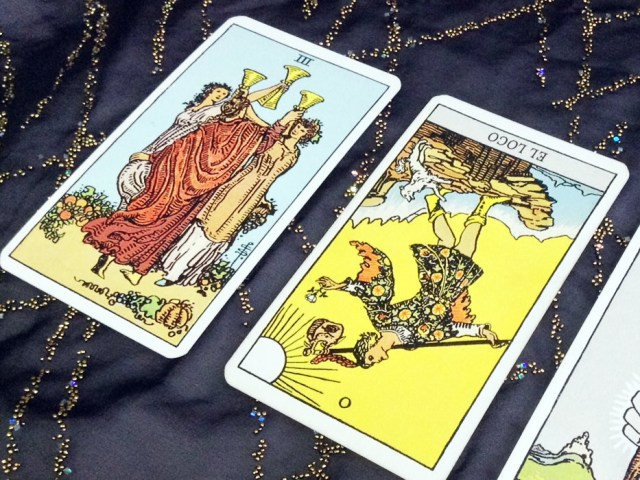 Cartas del Tarot ¿Invertidas o no?