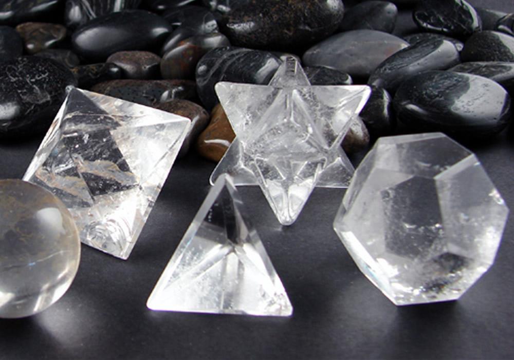 Los sólidos platónicos y los cristales