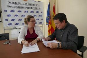 Convenio con el Colegio de APIS de Castellón