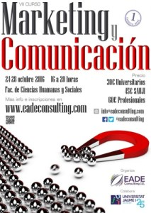 Jornadas de Marketing y Comunicación en la UJI