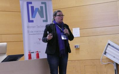 Participando en Women Techmakers Valencia