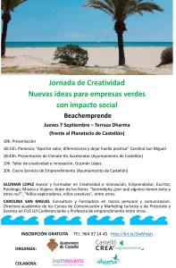 Beachemprende 2017 hablamos de creatividad en Castellón