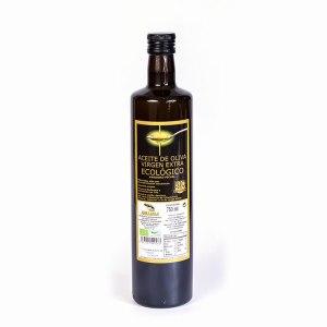 Aceite de oliva virgen extra ecológico 750ml botella de cristal