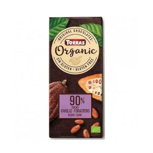 Chocolate 90% cacao ecológico