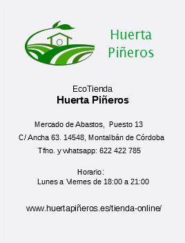 Eco tienda huerta mineros en Montalbán de Córdoba