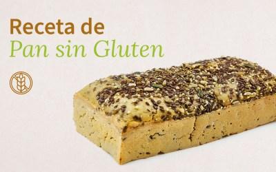 Receta de pan de masa madre sin gluten