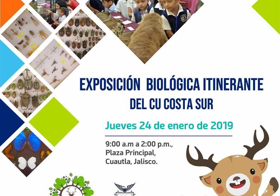 Invitación Exposición Biológica Itinerante del CU Costa Sur