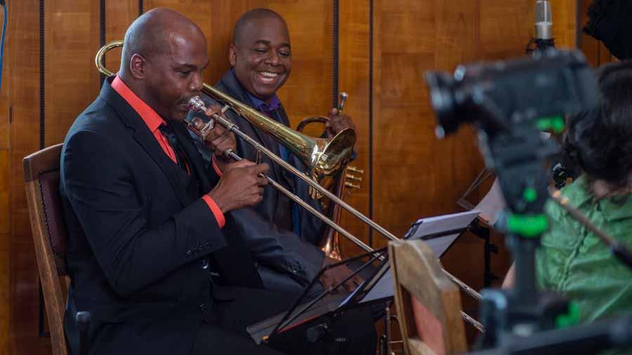 """Denis Cuní Rodriguez - Posaune bei """"The Cuban Orquesta"""""""