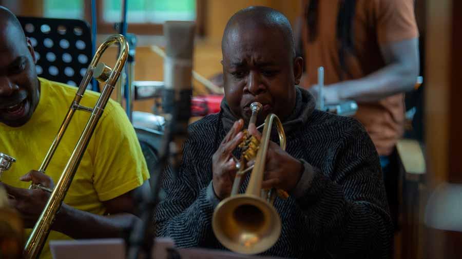 "Humberto Zaldivar - Trompete bei ""The Cuban Orquesta"""