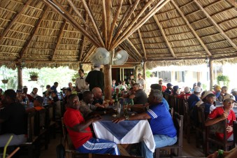 The La Luceita Restaurant, where the players enjoyed a postgame meal.