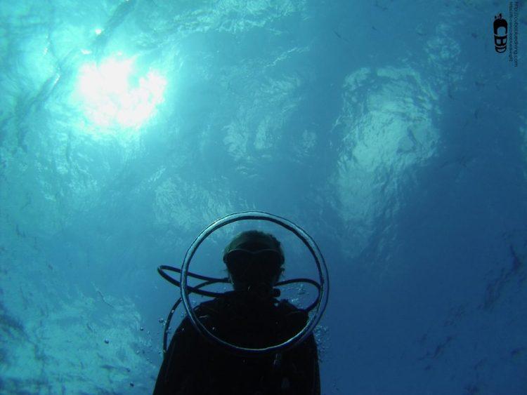 Burbuja en el buceo