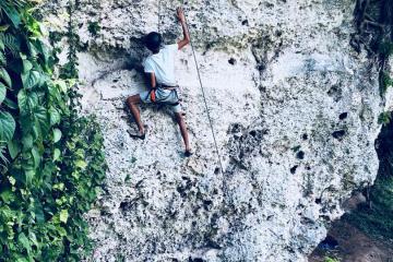 Escalando en La Habana