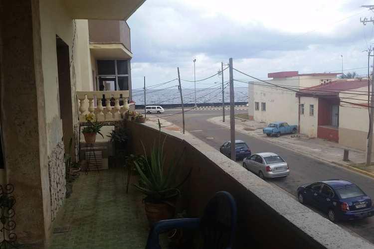 Vista al Mar - Hospedaje - Cuba Blue Diving - vista desde el balcon