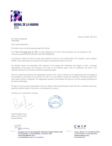 Letter of Official Invitation