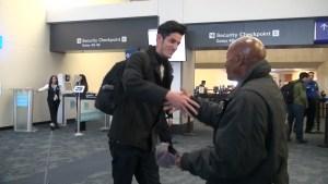 Roberto welcomes Bryan to San Francisco.