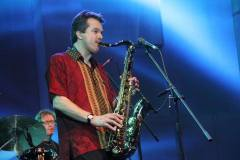 Chris Peterman on tenor sax 1