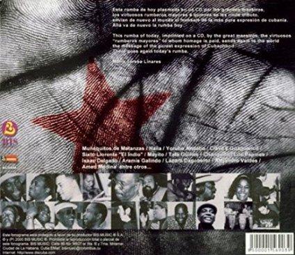 La Rumba Soy Yo reverso del CD