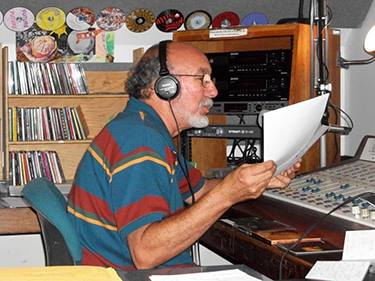 Toni Basanta at WWPV 92.5 FM The Mike St Michael's College radio station