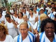 damas de blanco 8 de septiembre La habana 9