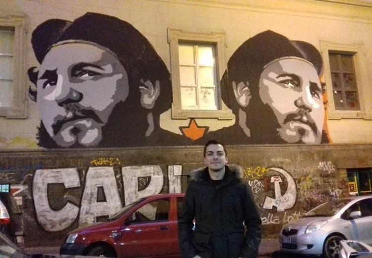 Vincenzo Basile, politólogo y bloguero italiano residente en España. Foto cortesía del entrevistado