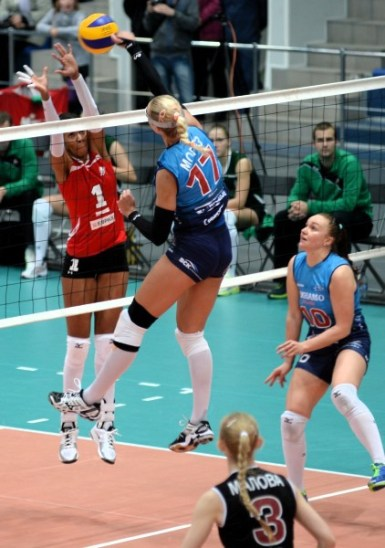 Yumilka Ruiz en la Super Liga de Rusia