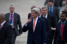 John Kerry dentro de la delegación que asistió a la visita oficial del presidente Barack Obama a Cuba