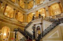 Escalera principal Biblioteca Nacional