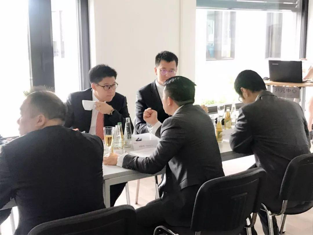 全国政协港澳台侨委员会代表团参观访问慕尼黑