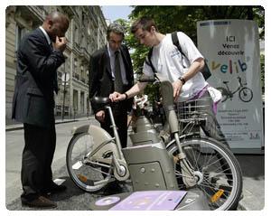 progetto Velib a Parigi