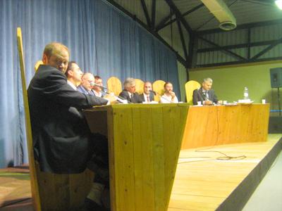 Francesco Pagnini coordina i 7 candidati sindaci