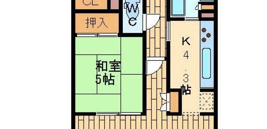 豊中市売りマンション。