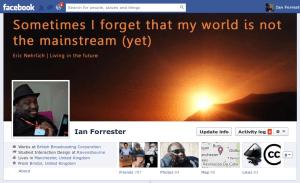 My Facebook timeline