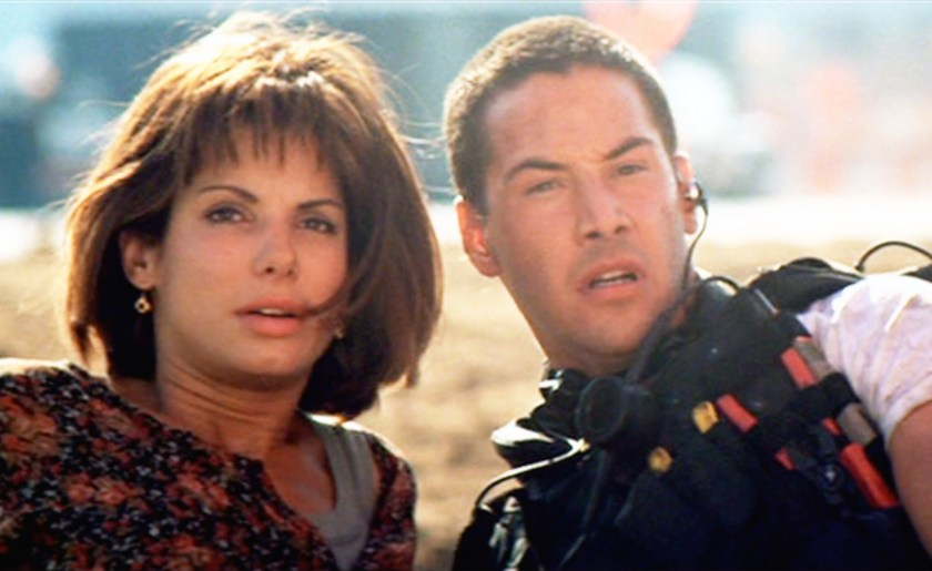 Sandra and Keanu in Speed
