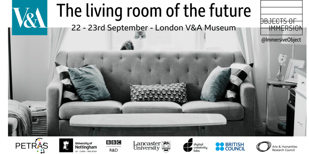 The Living Room of the Future at the V&A Museum – this weekend!