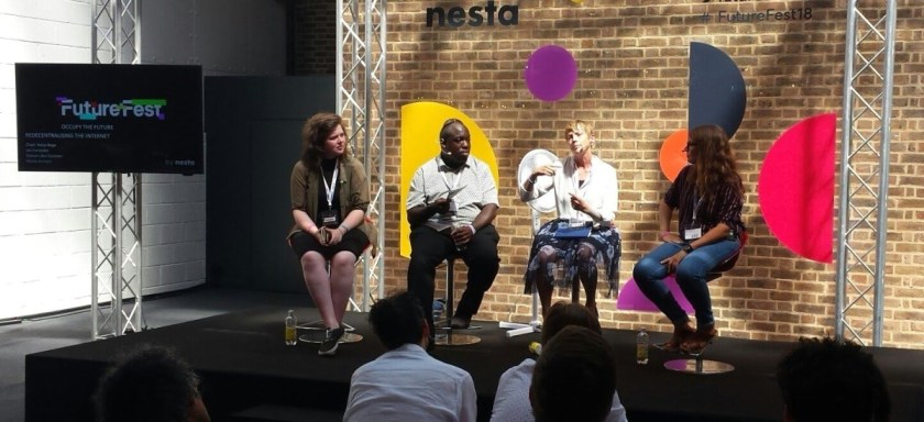 Futurefest 2018 panel