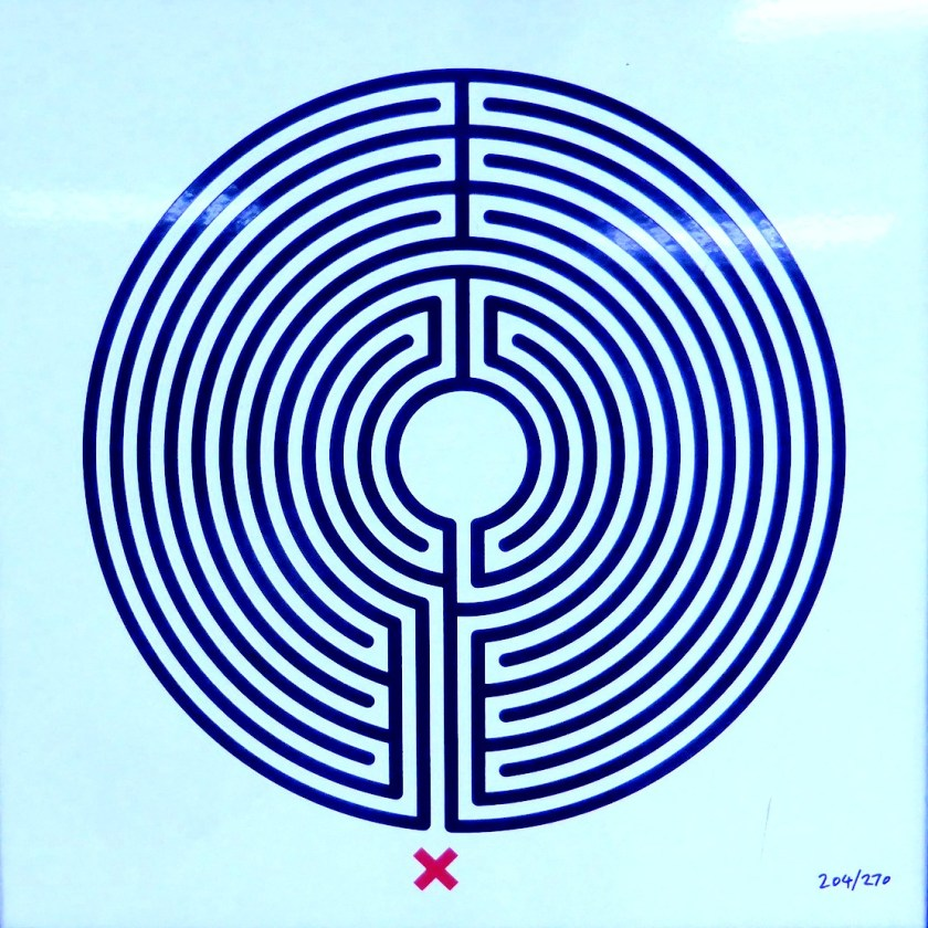 London underground inception map