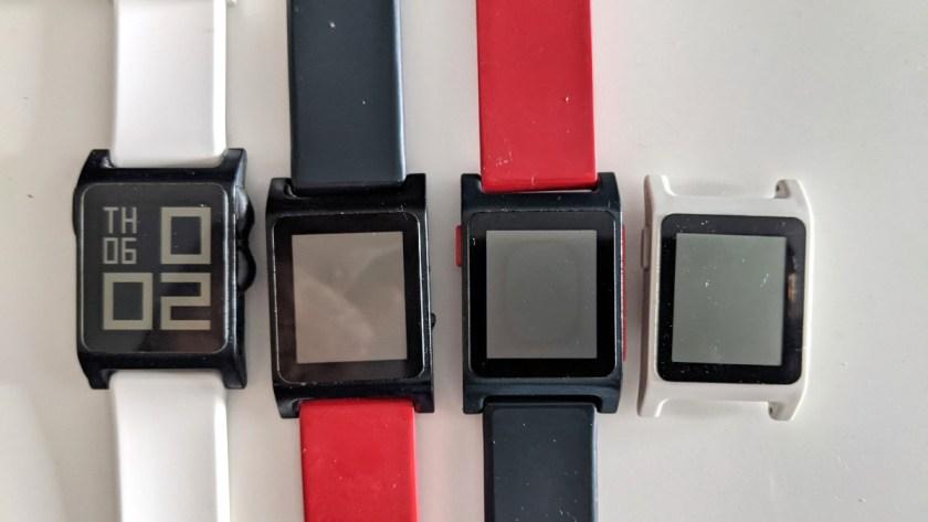 Broken pebble 2 smart watches