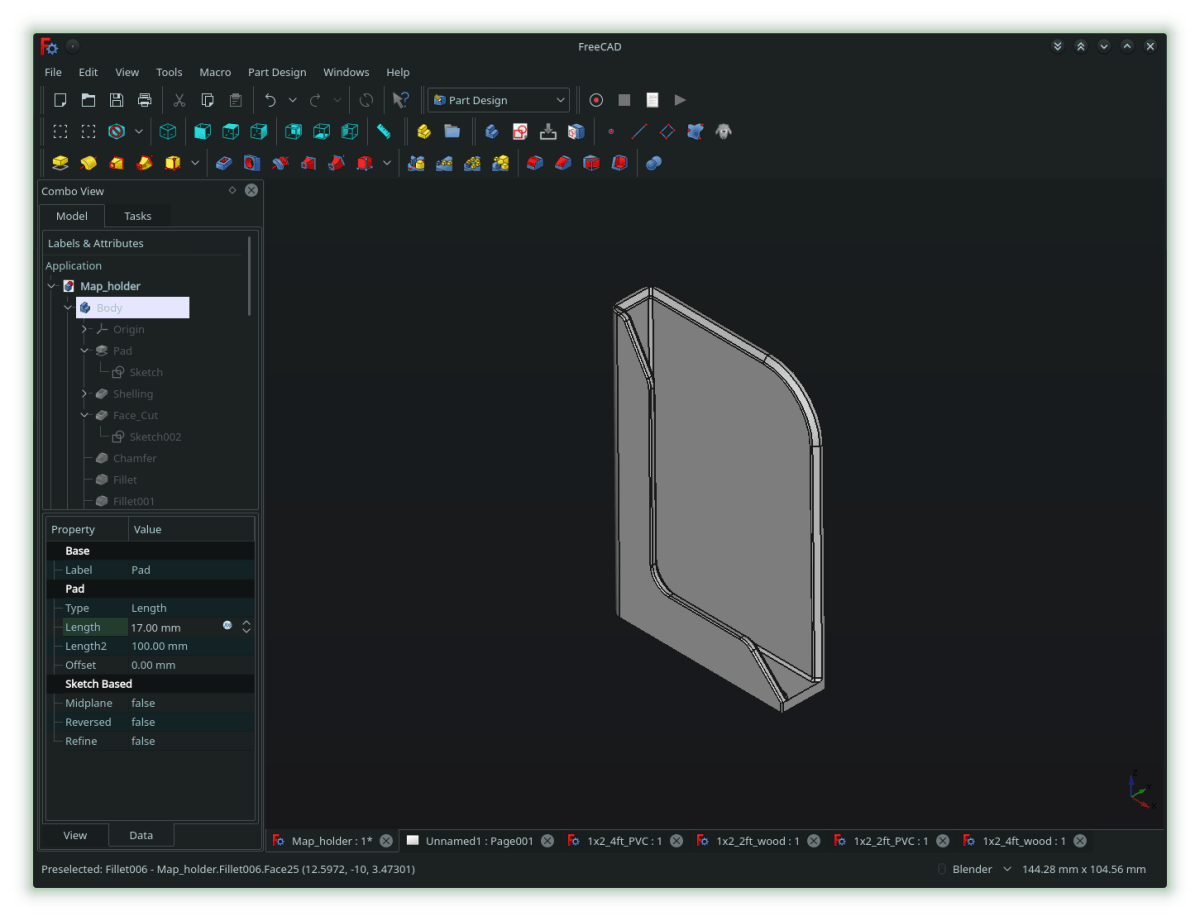 First FeeCAD Project.png