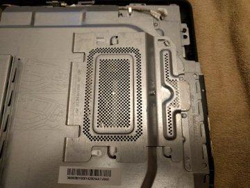 Dell Inspiron 20 3048-05-Memory Compartment