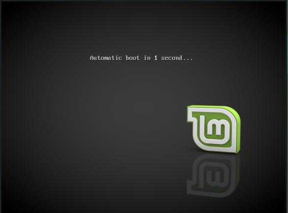 linuxmint-01-live media boot