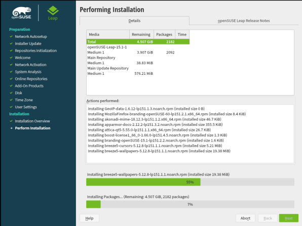 openSUSE Leap 15.1 Installation 26