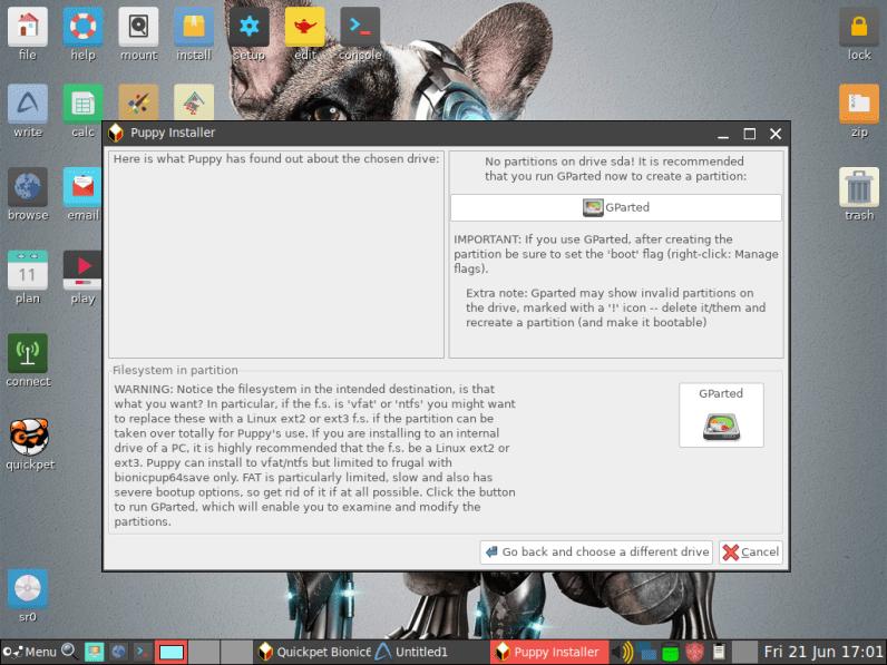 PuppyLinux VM 10