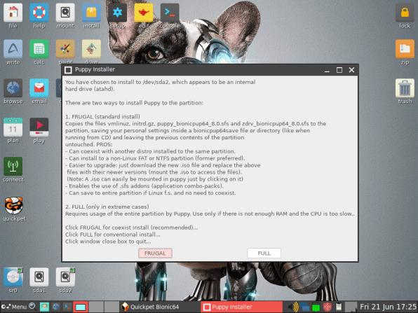 PuppyLinux VM 23