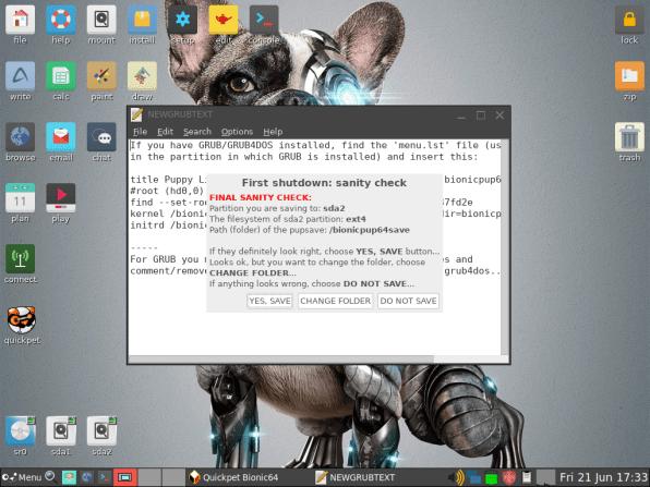 PuppyLinux VM 42
