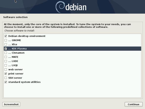 Debian 10 27 Installation