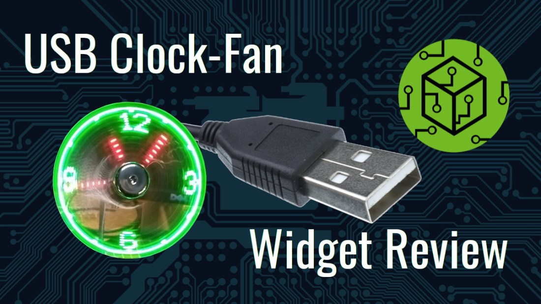 Clock Fan with Thermometer Review Thumbnail
