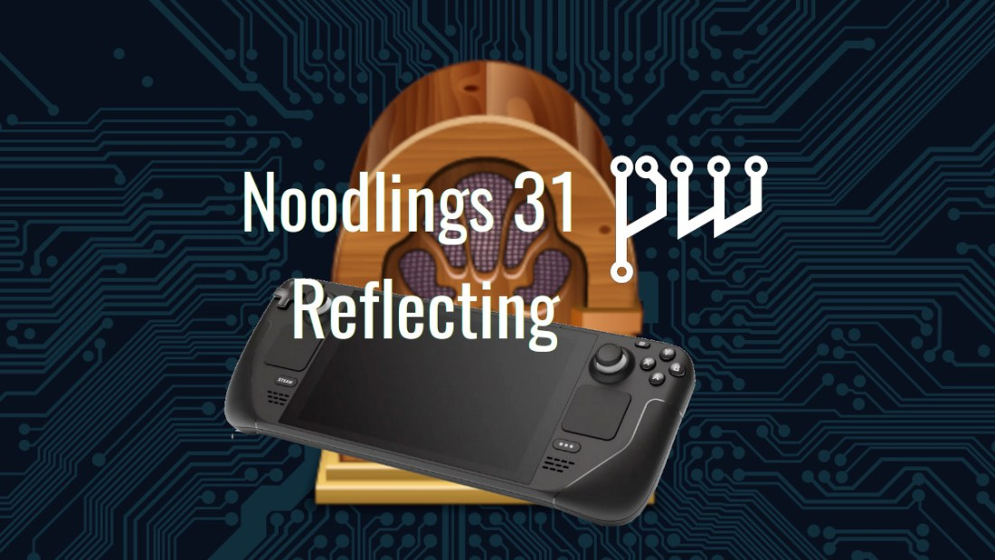 Noodlings 31 Title Image