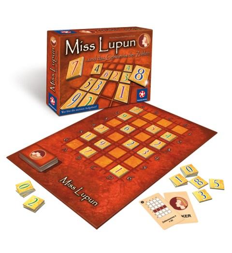 Caja y componentes de Miss Lupun