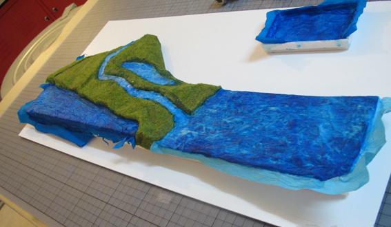 Proceso de fabricación del tablero